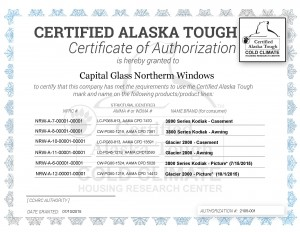 Certificate, Certified Alaska Tough_allwindows3